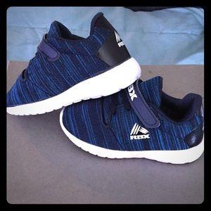 Toddler boys blue Reebok sneakers size 9